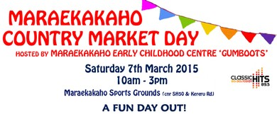 Maraekakaho Country Market Day