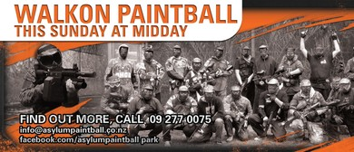 Sunday Walkon Paintball Game