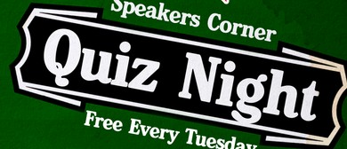 Speakers Corner Quiz Night