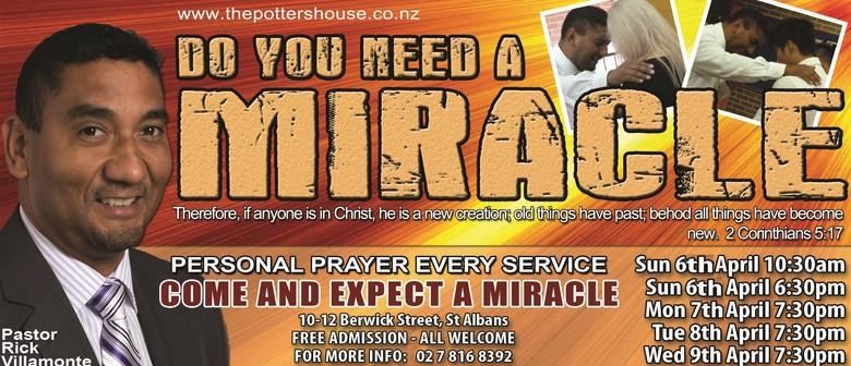 Miracle Healing Meetings