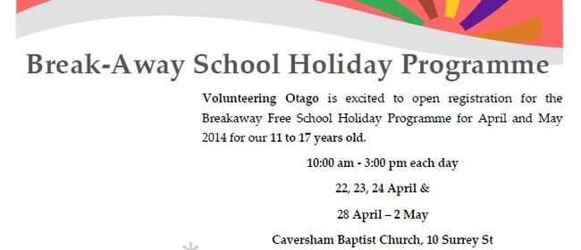 Volunteering Otago's School Holiday Programme