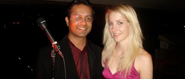 Ben Fernandez and Verity Burgess