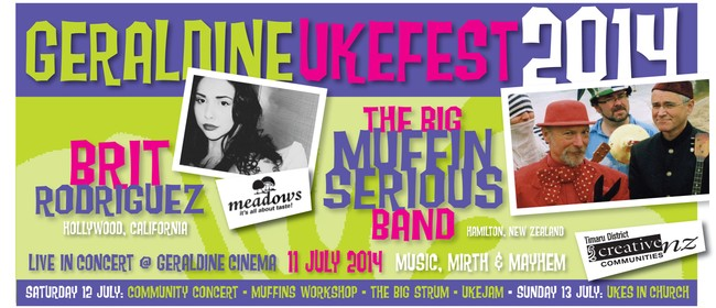 Geraldine Ukefest - Saturday Ukulele Events