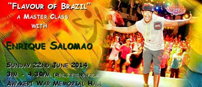 """Flavor of Brazil"" Zumba Masterclass with Enrique Salomao"