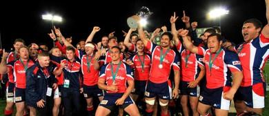 Tasman Makos vs Counties Mankau ITM Cup rugby