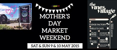 Mother's Day Market Weekend