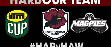 ITM Cup QBE Insurance Harbour v Hawke's Bay