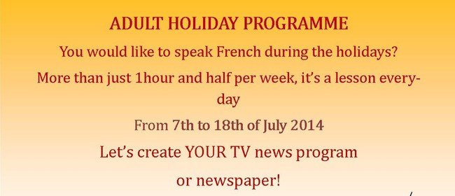 Adult Holiday Programme