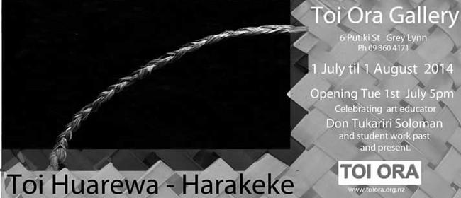 Toi Huarewa - Harakeke