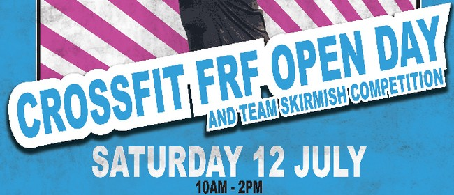 CrossFit FRF Open Day and Team Skirmish Competition