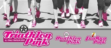 Triathlon Pink NZ/Fun Run Pink - Point Chevalier #1