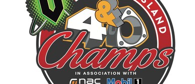V 4 and Rotary South Island Champs 2014 - Drag Racing Day