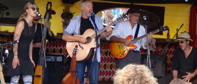 Paddy Burgin and the Wooden Box Band