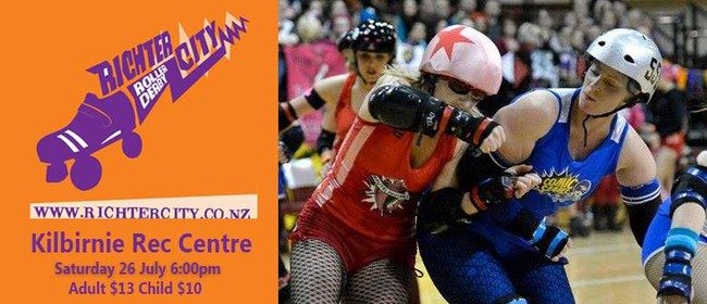 Roller Derby: Comic Slams vs Brutal Pageant