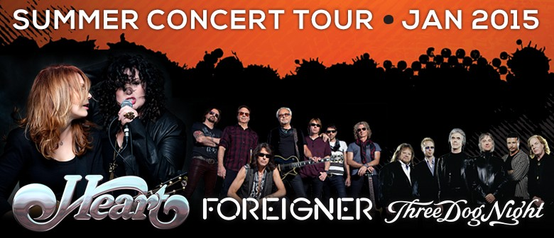 Heart, Foreigner & Three Dog Night