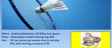 Badminton Breakfast Club