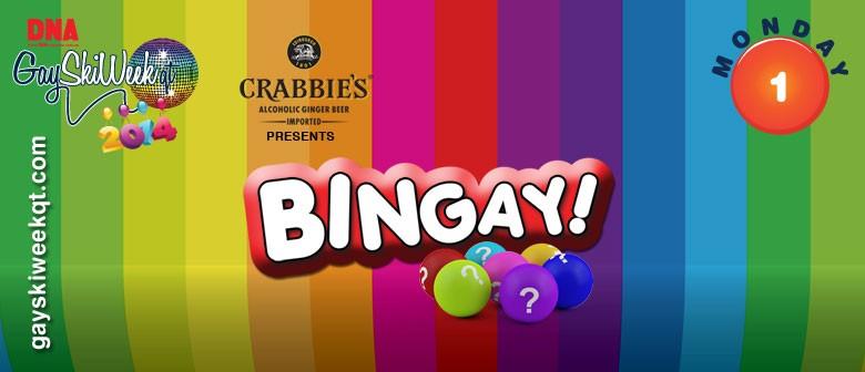 Crabbies presents Bingay!