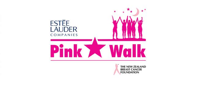 Estée Lauder Companies Pink Star Walk - Auckland