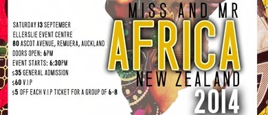 Miss & Mr Africa New Zealand 2014