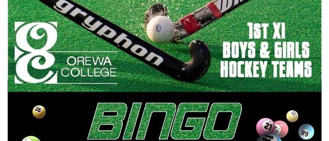 Orewa College Hockey Fundraiser Bingo Night