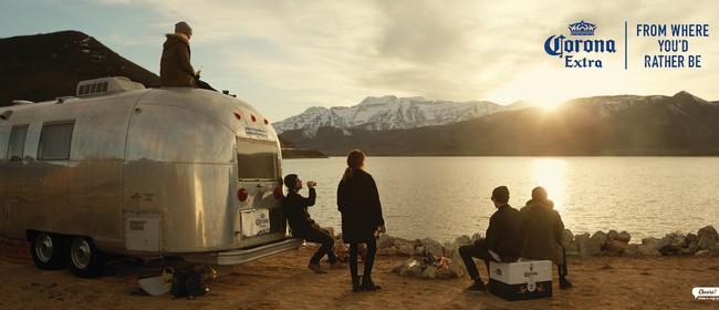 Corona Airstream Winter Tour
