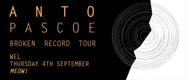 Anto Pascoe single release show with Cobra Club and La Nause