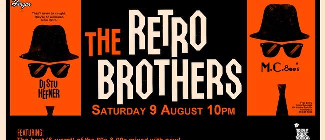 Triple Rock Vodka presents The Retro Brothers