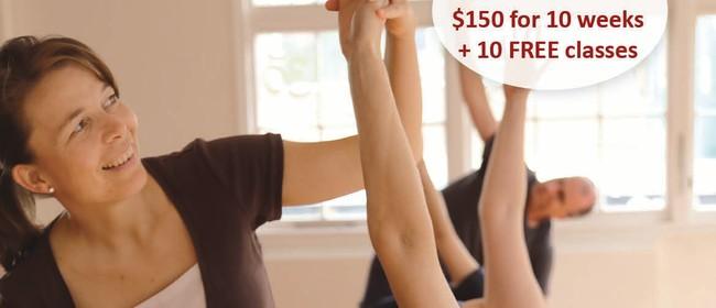 Basics of Yoga - 10 Week Beginners Course