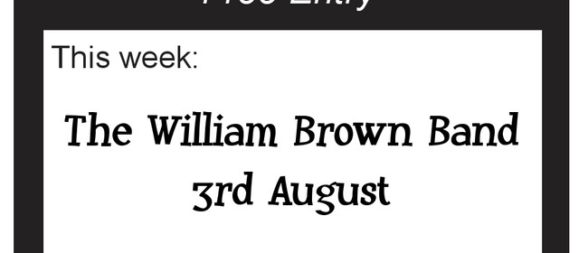 Auckland Blues Club with The William Brown Band