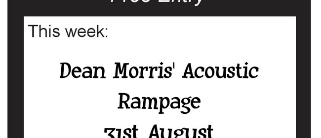 Auckland Blues Club with Dean Morris' Accoustic Rampage