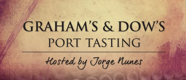Graham's and Dow's Port Tasting