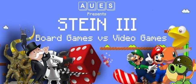 AUES Stein III: Board Games vs. Video Games