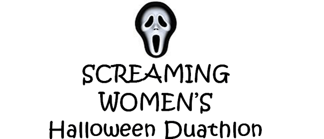 Screaming Women's Halloween Duathlon