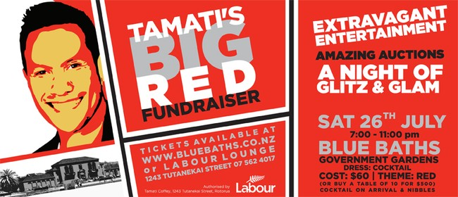 Tamati's Big Red Fundraiser