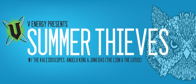 V Energy NZ Presents Summer Thieves Re-Orientation Tour
