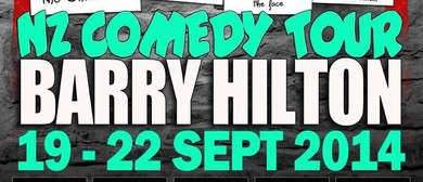 Barry Hilton NZ Tour