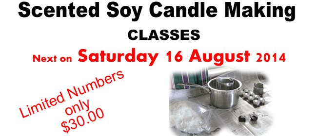Scented Soy Candle Making Class