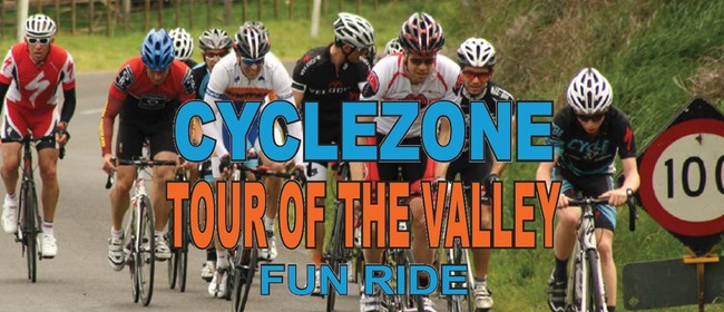 CycleZone Tour of the Valley Fun Cycle Ride