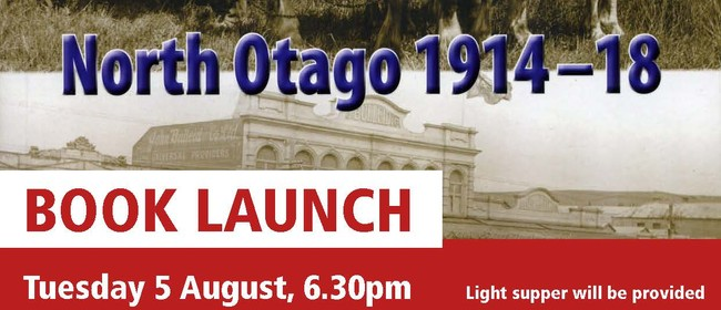 The Home Front North Otago 1914-18 Book Launch