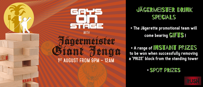 Jagermeister Giant Jenga Party