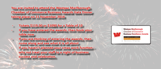 Westpac Marlborough Chamber of Commerce Business Awards