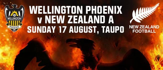 Wellington Phoenix FC v New Zealand A