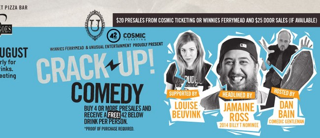 Crackup Comedy with Jamaine Ross