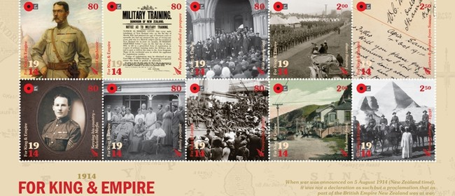 New Zealand Post WW1 Tribute March and Ceremony