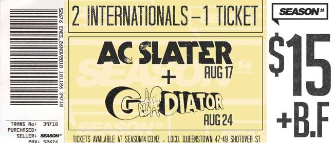 AC Slater & Gladiator Combo Ticket
