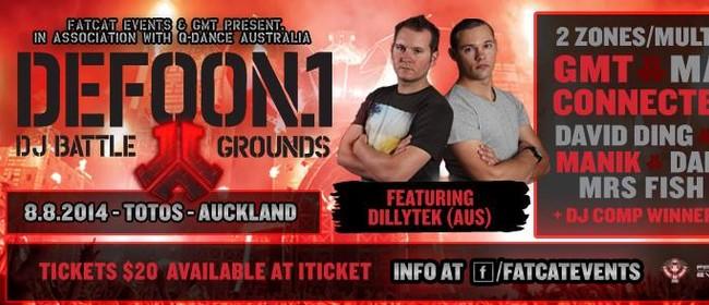 Defqon1 - DJ battle grounds (Akl) Ft: Dillytek (AUS)