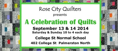 Rose City Quilters Celebration of Quilts Exhibition