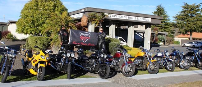 Triumph Riders Motorcycle Club NZ Inc. Bike Show