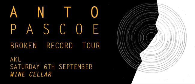 Anto Pascoe Single Release Show with Ben Prestidge