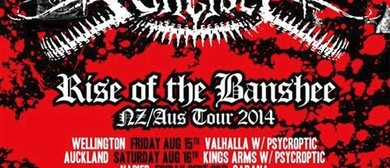Bulletbelt - Rise Of The Banshee - NZ/Aus Tour